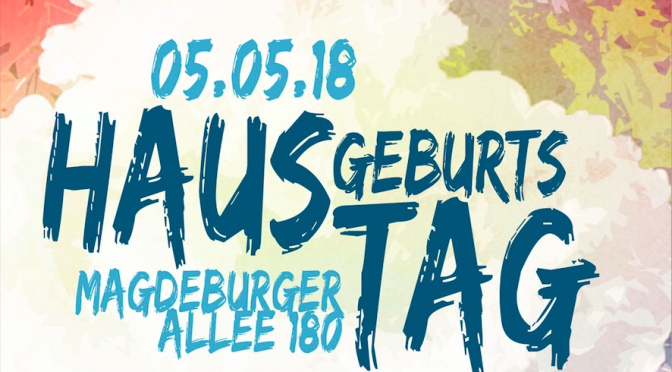 Hausgeburtstag Runde 2 am 5.5.2018